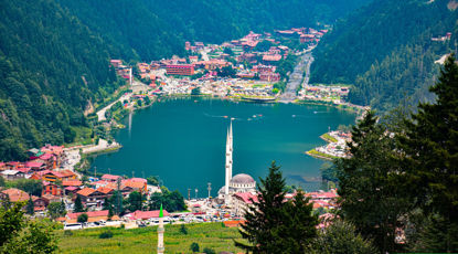 Türkiye'deki En Güzel Şelale Ve Göller